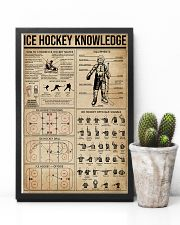 Ice Hockey Knowledge 11x17 Poster lifestyle-poster-8