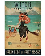 Beach Life Sandy Toes Witch 11x17 Poster front