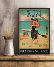 Beach Life Sandy Toes Witch 11x17 Poster lifestyle-poster-3