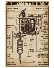 Anatomy of a Tattoo Machine 11x17 Poster front