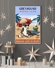 Beach Club Is Ruff Greyhound 11x17 Poster lifestyle-holiday-poster-1