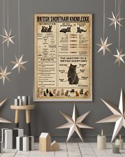 British Shorthair Knowledge 11x17 Poster lifestyle-holiday-poster-1