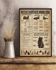 British Shorthair Knowledge 11x17 Poster lifestyle-poster-3
