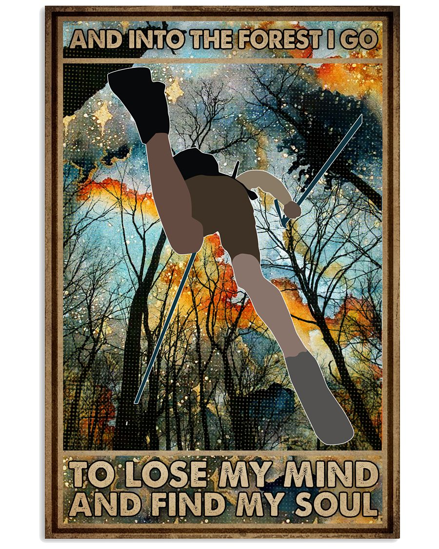 To Lose My Mind and Find My Soul Hiking 16x24 Poster