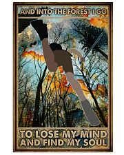 To Lose My Mind and Find My Soul Hiking 16x24 Poster front