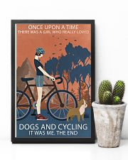 Vintage Girl Once Upon A Time Dogs And Cycling 11x17 Poster lifestyle-poster-8