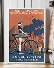 Vintage Girl Once Upon A Time Dogs And Cycling 16x24 Poster lifestyle-poster-4