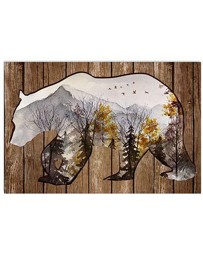 Forest Bear Cutout