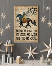 Blue Earth Dictionary Find My Soul Horse 11x17 Poster lifestyle-holiday-poster-1