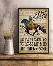 Blue Earth Dictionary Find My Soul Horse 11x17 Poster lifestyle-poster-3