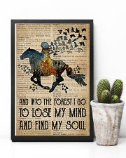 Blue Earth Dictionary Find My Soul Horse 11x17 Poster lifestyle-poster-8