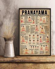 Yoga Pranayama  11x17 Poster lifestyle-poster-3
