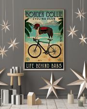 Cycling Club Border Collie 11x17 Poster lifestyle-holiday-poster-1