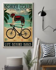 Cycling Club Border Collie 11x17 Poster lifestyle-poster-1