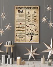 German Shorthaired Pointer Knowledge 11x17 Poster lifestyle-holiday-poster-1