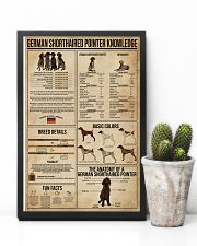 German Shorthaired Pointer Knowledge 11x17 Poster lifestyle-poster-8