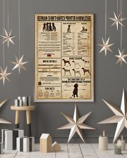 German Shorthaired Pointer Knowledge 16x24 Poster lifestyle-holiday-poster-1