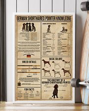 German Shorthaired Pointer Knowledge 16x24 Poster lifestyle-poster-4