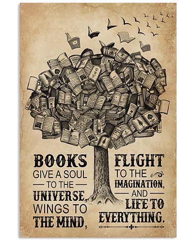 Books Give A Soul Reading Tree