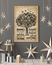 Books Give A Soul Reading Tree 16x24 Poster lifestyle-holiday-poster-1