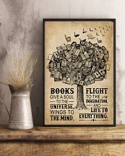 Books Give A Soul Reading Tree 16x24 Poster lifestyle-poster-3