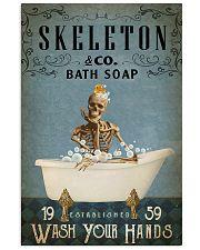 Vintage Bath Soap Skeleton 16x24 Poster front