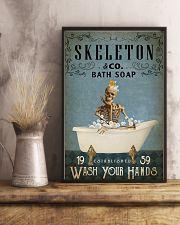 Vintage Bath Soap Skeleton 16x24 Poster lifestyle-poster-3