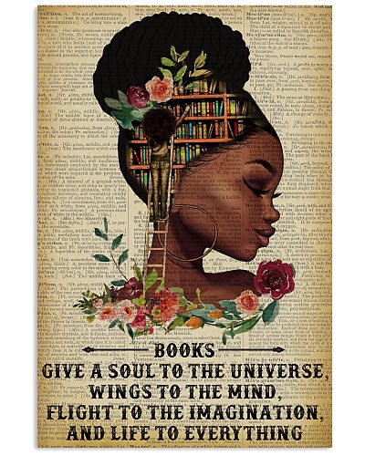 Books Give A Soul Reading Black Girl