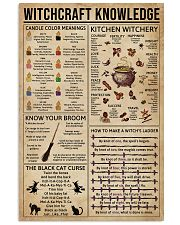 Witchcraft Witchery Knowledge 16x24 Poster front