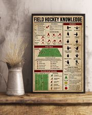 Field Hockey Knowledge Sport 16x24 Poster lifestyle-poster-3