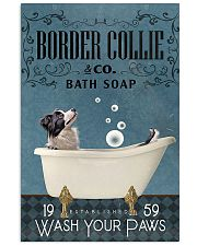 Bath Soap Company Border Collie 11x17 Poster front