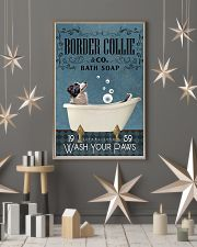 Bath Soap Company Border Collie 11x17 Poster lifestyle-holiday-poster-1