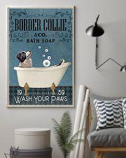 Bath Soap Company Border Collie 11x17 Poster lifestyle-poster-1