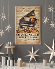 Catchphrase Works Willingly With Hand Piano 11x17 Poster lifestyle-holiday-poster-1