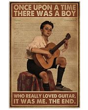 Once Upon A Time Guitar 16x24 Poster front