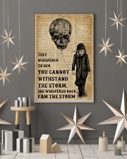 I Am The Storm Balloon Skull 16x24 Poster lifestyle-holiday-poster-1
