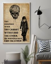 I Am The Storm Balloon Skull 16x24 Poster lifestyle-poster-1