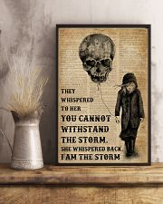 I Am The Storm Balloon Skull 16x24 Poster lifestyle-poster-3
