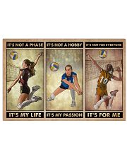 Volleyball It's Not A Phase 24x16 Poster front