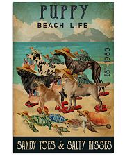 Turtle Beach Life Puppy 16x24 Poster front
