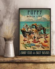 Turtle Beach Life Puppy 16x24 Poster lifestyle-poster-3