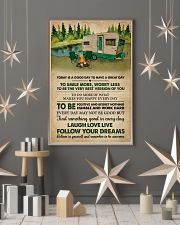 Remember To Be Awesome Camping 11x17 Poster lifestyle-holiday-poster-1