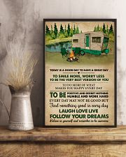 Remember To Be Awesome Camping 11x17 Poster lifestyle-poster-3