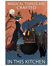 Vintage Witch Magical Things Crafted In Kitchen 11x17 Poster front