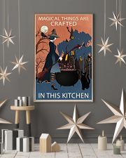 Vintage Witch Magical Things Crafted In Kitchen 11x17 Poster lifestyle-holiday-poster-1
