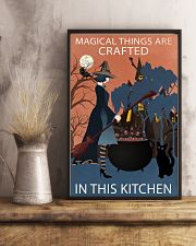 Vintage Witch Magical Things Crafted In Kitchen 11x17 Poster lifestyle-poster-3
