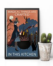Vintage Witch Magical Things Crafted In Kitchen 11x17 Poster lifestyle-poster-8