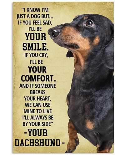 Always Be By Your Side Dachshund