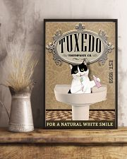 Tuxedo Toothpaste Co Cat Lover 11x17 Poster lifestyle-poster-3