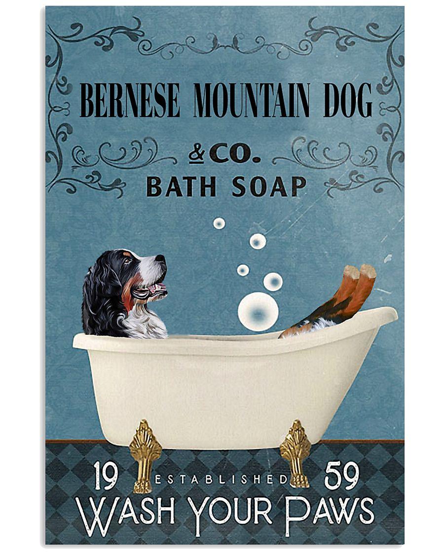 Bath Soap Company Bernese Mountain Dog 11x17 Poster